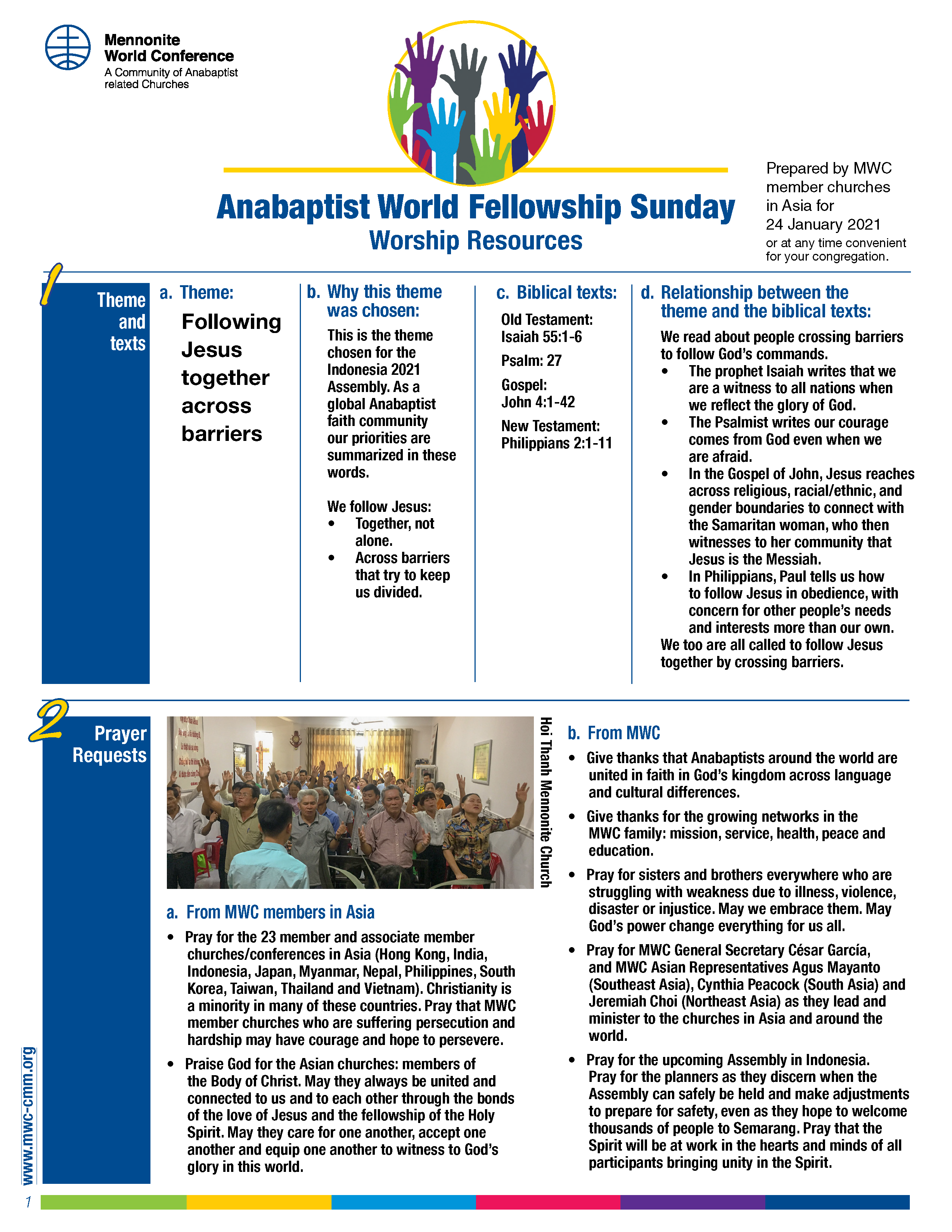 anabaptist world fellowship sunday 2021 worship resource