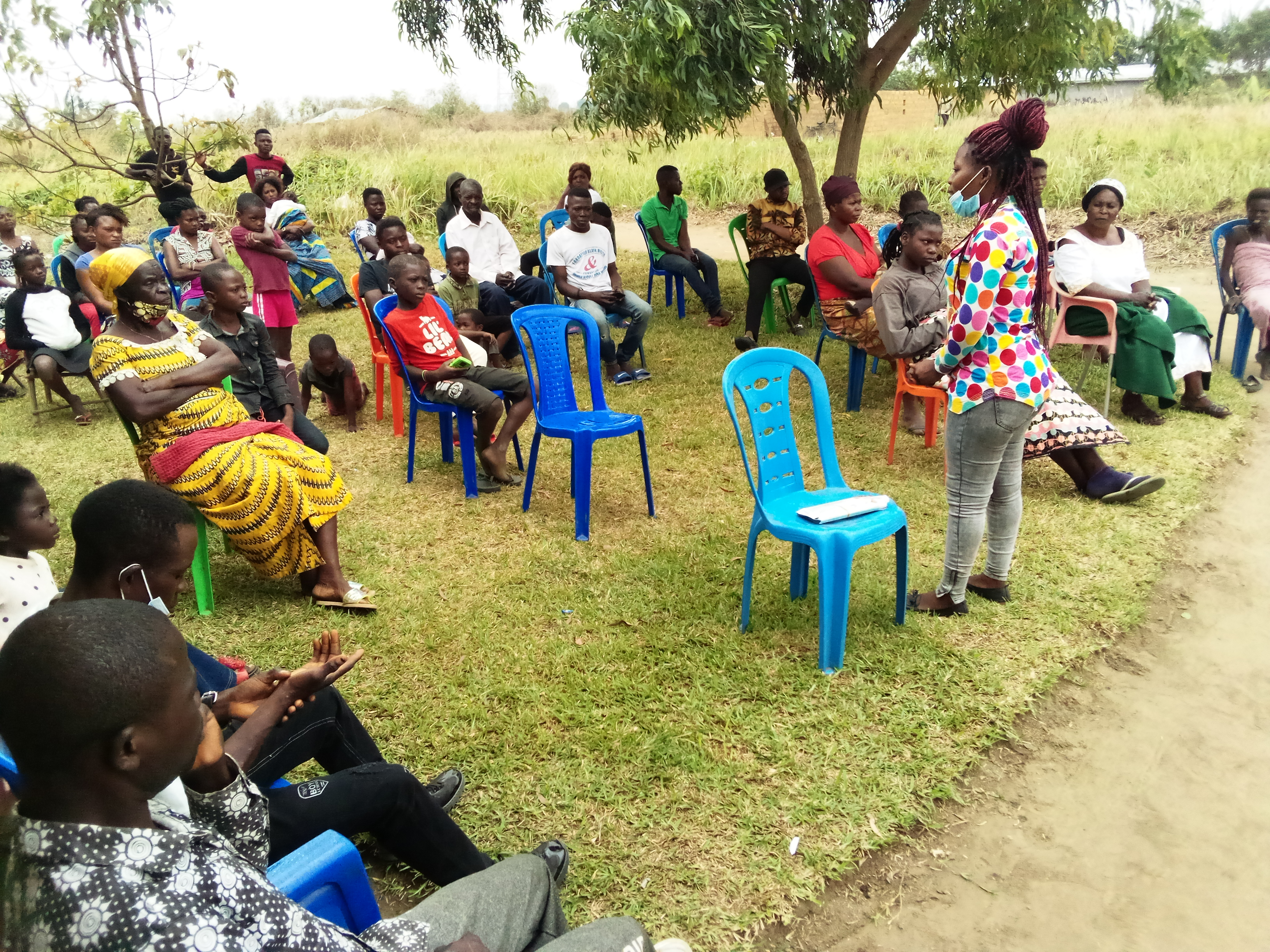 Bateke Plateau DRC Mennonite church training