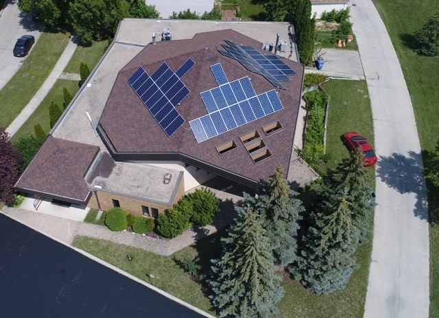 Fort Garry solar panels
