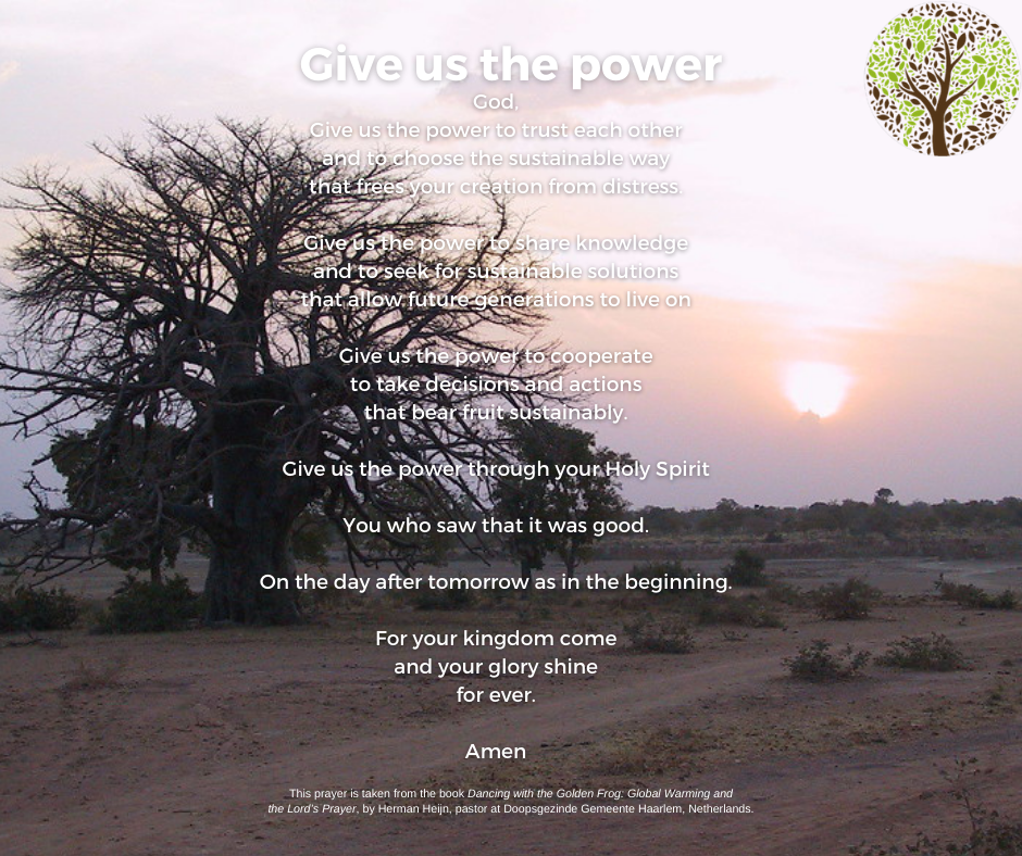 season of creation - give us the power