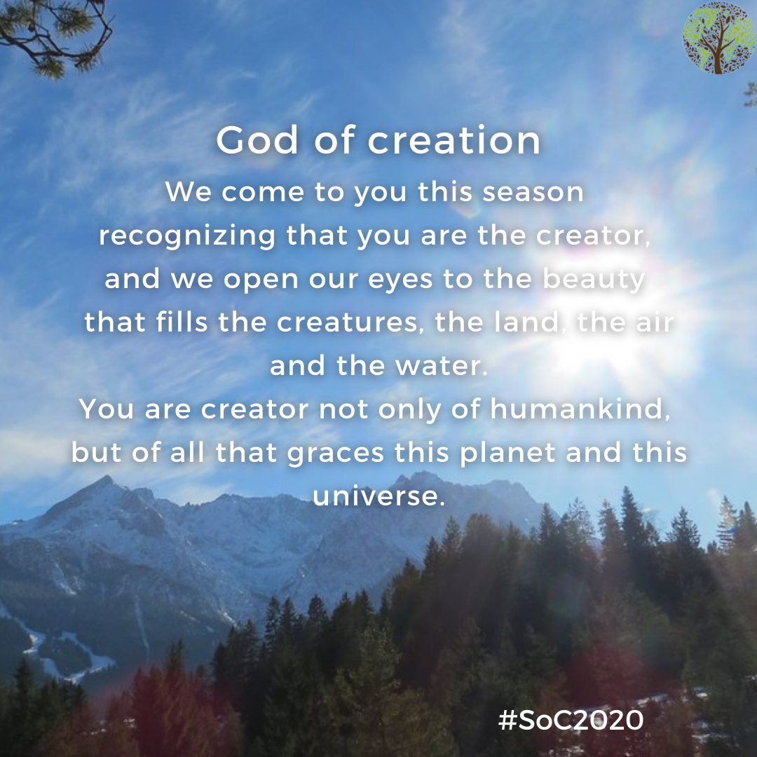 season of creation - god of