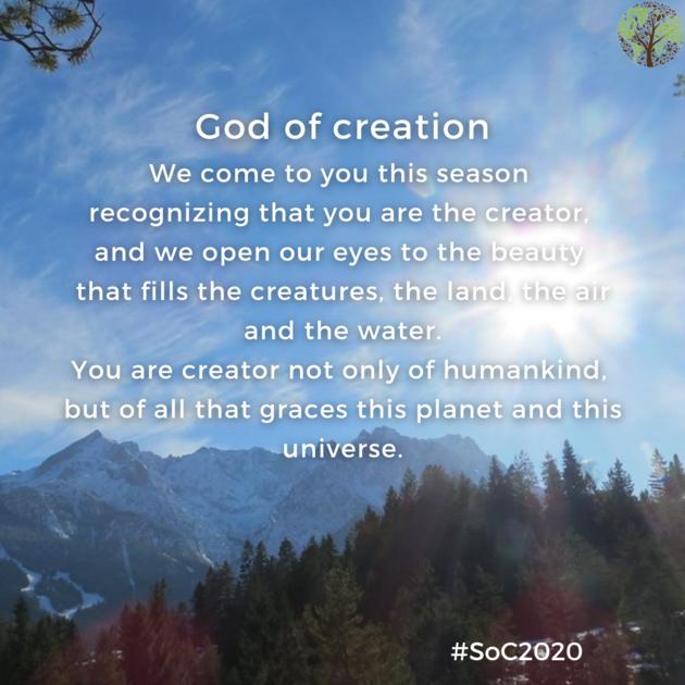 season of creation - god of