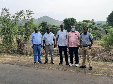 MKC church leaders visited the conflict region.