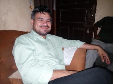 Pastor José Fernández, Vida en Abundancia in Honduras. Photo: Oscar Suárez