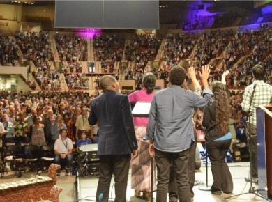Assembly worship gathering PA 2015
