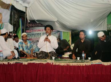 Pastor Danang Kristiawan of GITJ Jepara (Mennonite church) in Indonesia