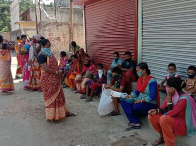 food relief in India