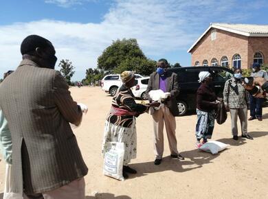 COVID-19 Zimbabwe church
