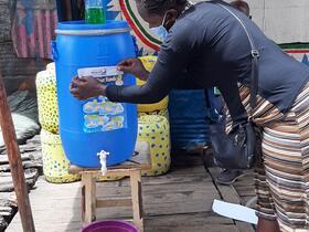 GAHN - CPN handwashing station