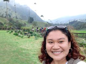 Minear Mak, YAMEN! participant Cambodia, Cocora Valley, Colombia.