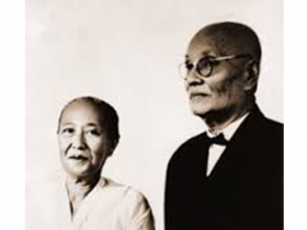 <p>Tee Siem Tat (r) and his wife Sie Djoen Nio (l), founders of GKMI. Photo: Courtesy GKMI</p>
