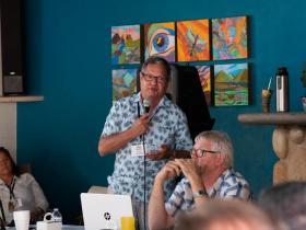 <p>Don Morris at Summit. Photo:Carson Samson.</p>