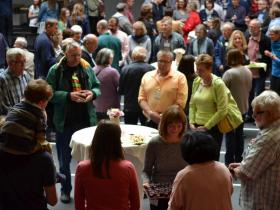<p>Communion at the Mennonite Brethren Convention in Germany. Photo: Liesa Unger.</p>