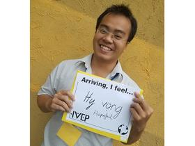 Thien Phuoc Quang Tran 2017-2018 IVEP UN Photo: MCC/Diana Williams