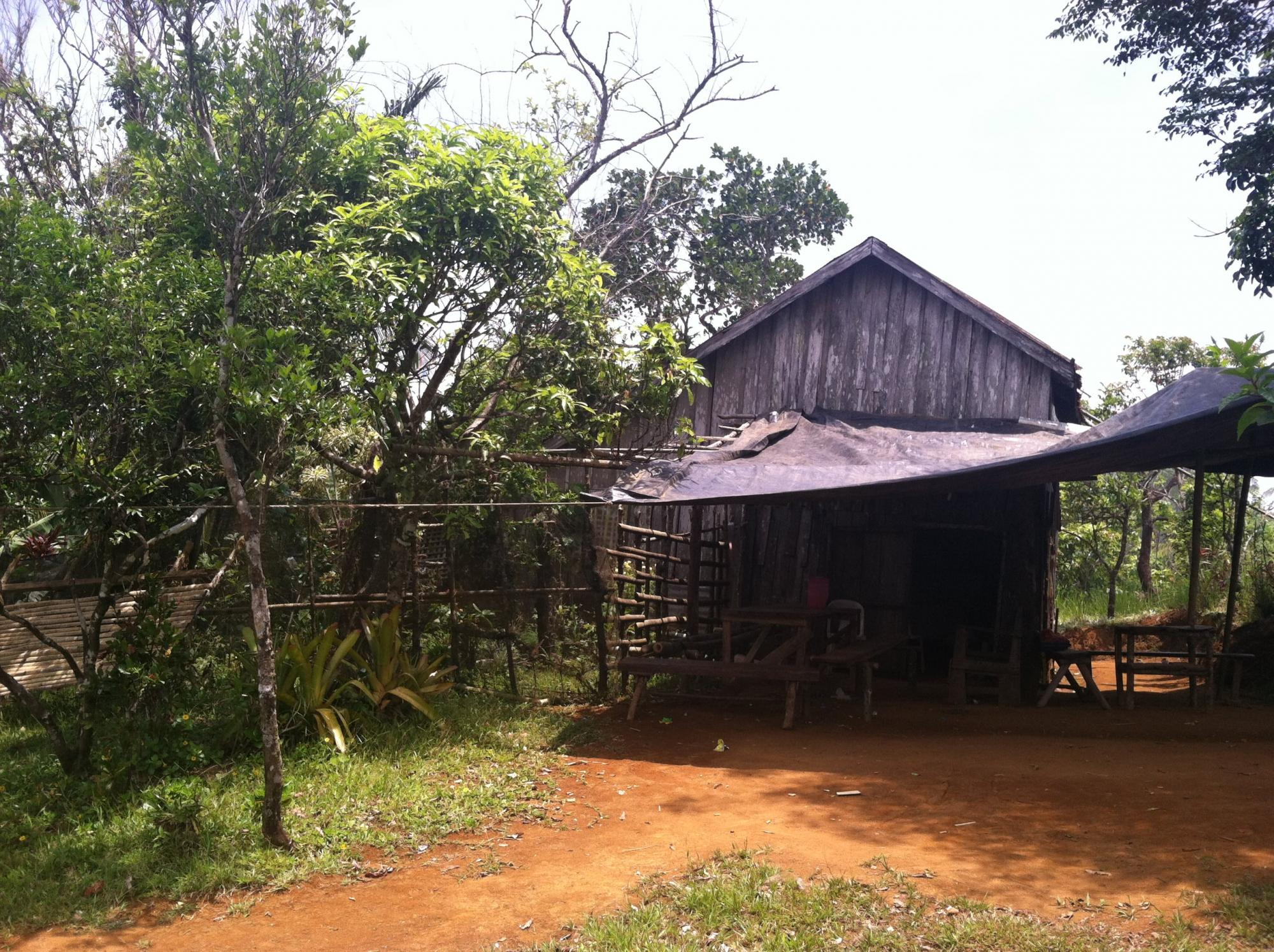 A typical house of IMC members who are in the rural areas. Photo: Ebenezer Mondez