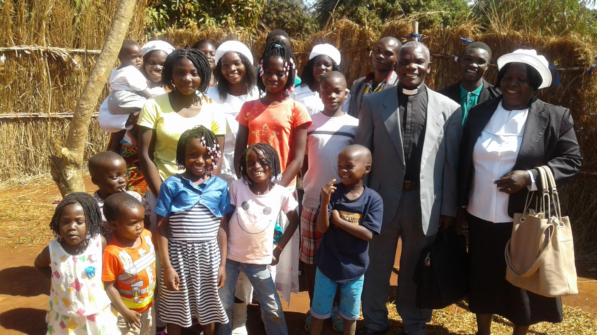 Laston Bissani, his wife Carlotta, and their family. Photo: courtesy of Laston Bissani.