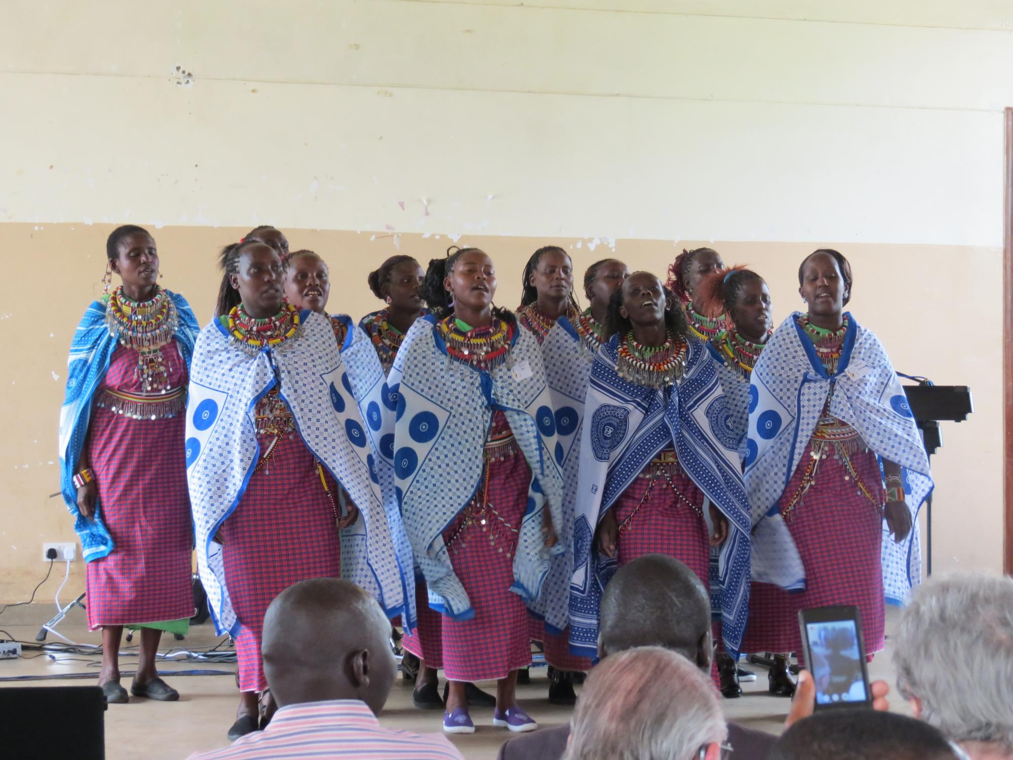 Maasai women at Renewal 2027