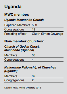 Ripe for Evangelism: Uganda Mennonite Church is growing